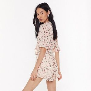 Nasty Gal Pants & Jumpsuits - Nasty Gal Heart Your Engines Ruffle Romper